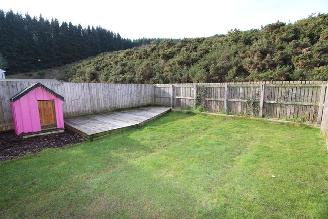 Rear Garden of Bishops View, Inverness IV3