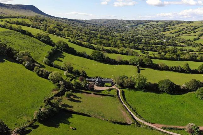 Thumbnail Farmhouse for sale in Craswall, Craswall, Herefordshire
