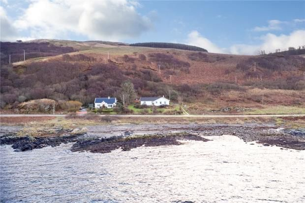 Thumbnail Detached house for sale in Camus Na Gaul, Tayinloan, Tarbert, Argyll And Bute