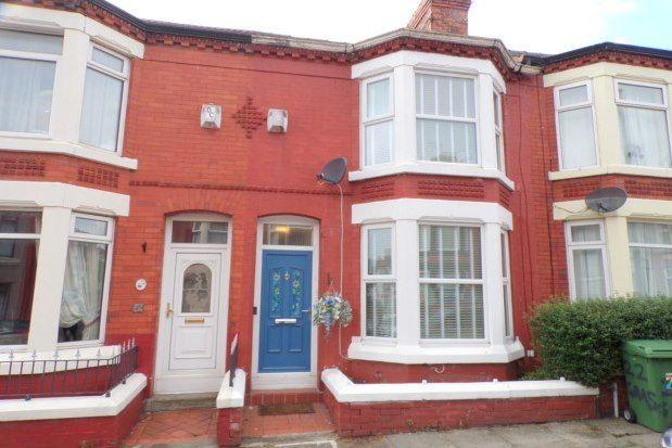 Thumbnail Property to rent in Grasville Road, Birkenhead