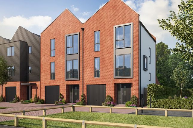 Thumbnail Town house for sale in Kingsway Boulevard, Derby