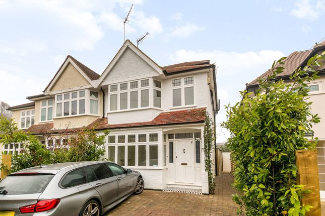 Thumbnail Semi-detached house to rent in Sandpits Road, Petersham