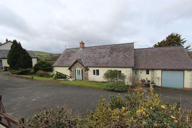 Thumbnail Detached bungalow for sale in Cefn Berain, Llannefydd, Denbigh
