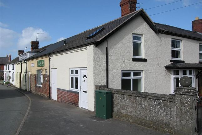 Thumbnail End terrace house to rent in Station Road, Pontesbury, Shrewsbury