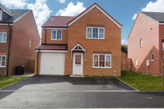 Thumbnail Detached house for sale in Oxford Close, Peterlee