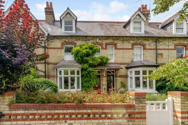 Thumbnail Terraced house for sale in De Freville Avenue, Cambridge