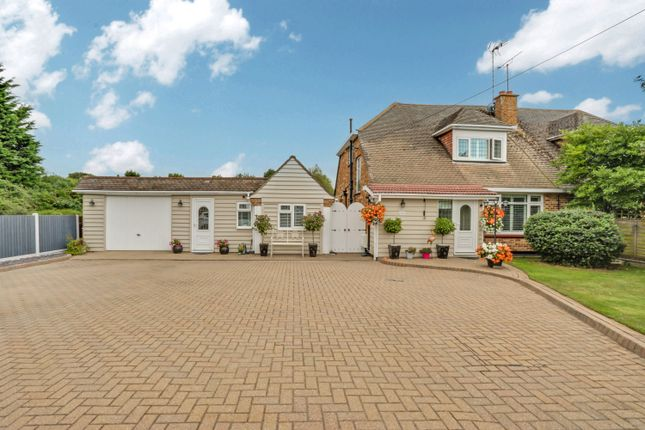 Thumbnail Semi-detached house for sale in Hullbridge Road, Rayleigh, Essex