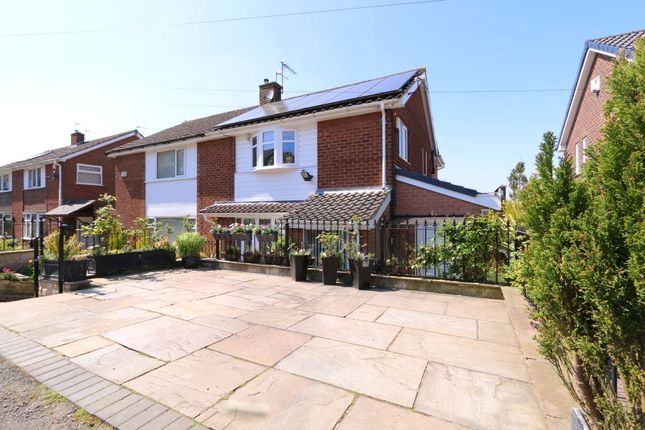 Thumbnail Semi-detached house for sale in Arnold Road, Hyde