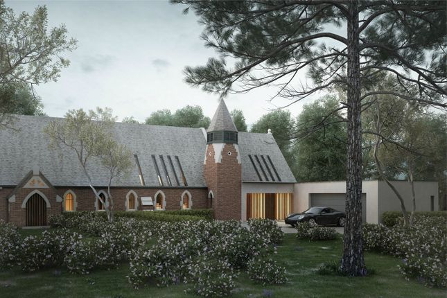 Thumbnail Detached house for sale in Church Road, Farley Hill, Berkshire