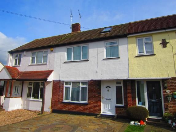 Thumbnail Terraced house for sale in Pilgrims Hatch, Brentwood, Essex