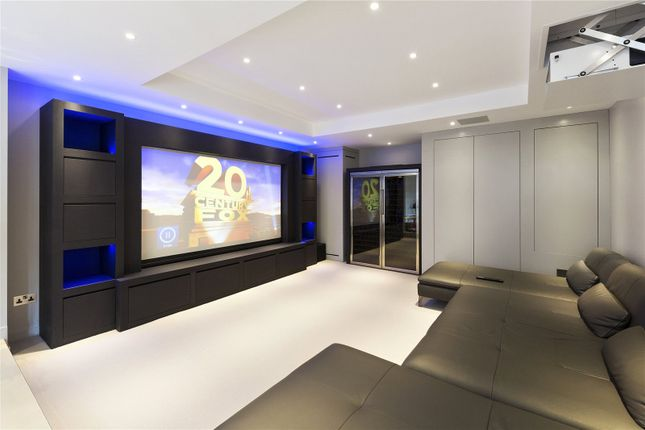 Cinema Room of Pine Walk, Cobham, Surrey KT11