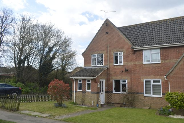 Semi-detached house for sale in Culford Walk, Felixstowe