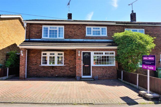 Semi-detached house for sale in Devonshire Close, Basildon