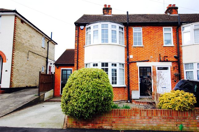 Thumbnail Semi-detached house for sale in Campbell Close, Old Moulsham, Essex