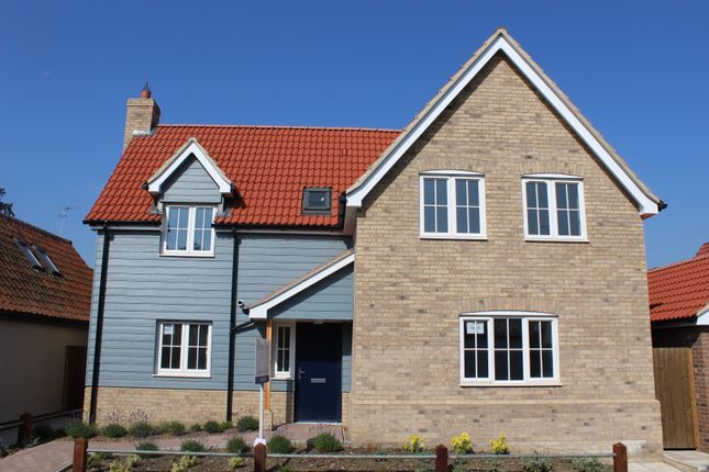 Thumbnail Detached house for sale in The Butts, Debenham, Stowmarket