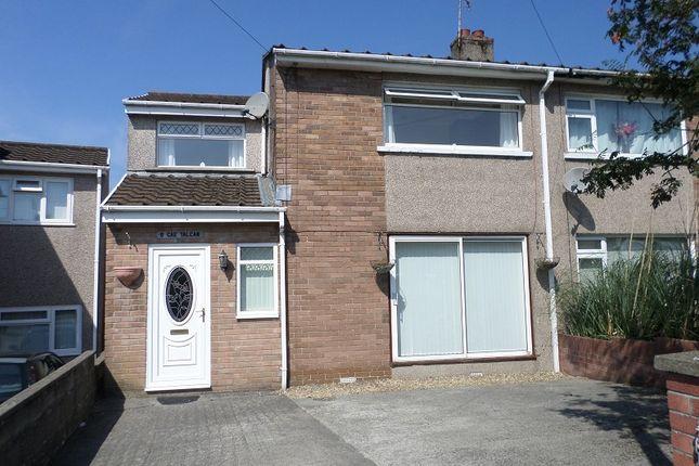 Thumbnail Semi-detached house to rent in Cae Talcen, Pencoed, Bridgend, Mid. Glamorgan.
