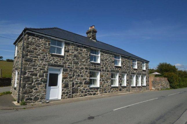 Thumbnail Detached house for sale in Rhoslefain, Tywyn, Gwynedd