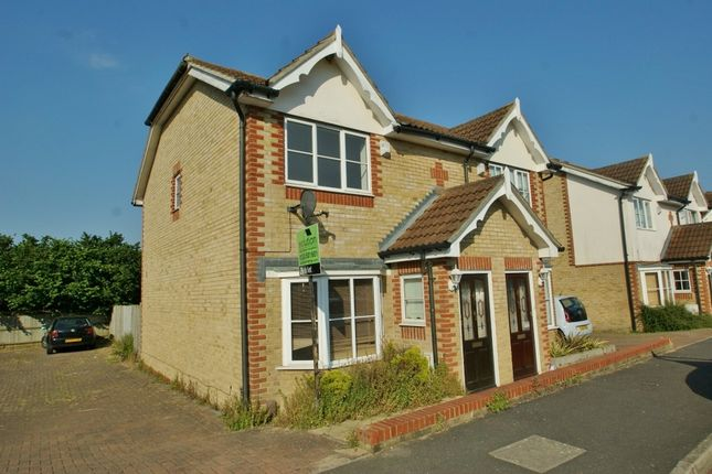 Thumbnail Semi-detached house to rent in Manor House Drive, Kingsnorth, Ashford