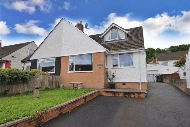 Thumbnail Semi-detached bungalow for sale in Oxwich Road, Mochdre, Colwyn Bay