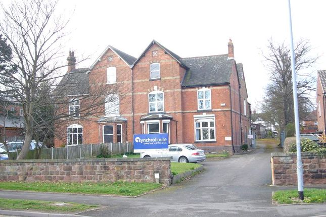 Office to let in Synchro House, Etruria Road, Newcastle Under Lyme
