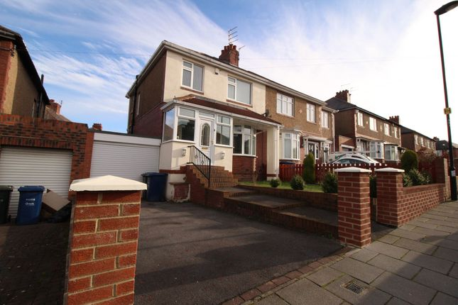 Thumbnail Semi-detached house for sale in Earls Drive, Newcastle Upon Tyne