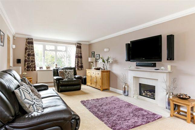 Living Room of Netherhouse Moor, Church Crookham, Fleet, Hampshire GU51