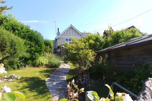 Thumbnail 2 bed detached bungalow for sale in Porthcothan Bay, Padstow