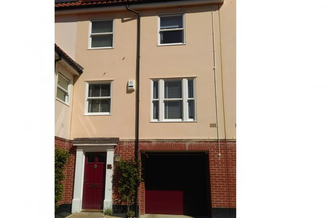 Thumbnail End terrace house for sale in Indigo Yard, Norwich, Norfolk