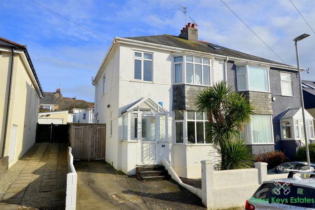 3 bed property for sale in Berrow Park Road, Plymouth PL3