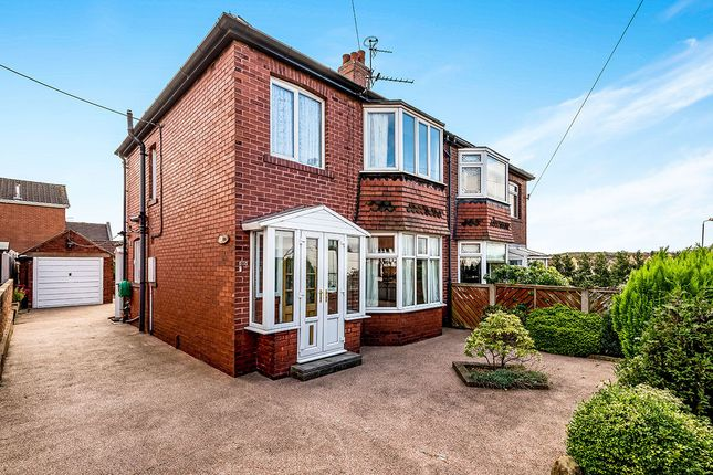 Thumbnail Semi-detached house for sale in St. Martins Grove, Whitwood, Castleford