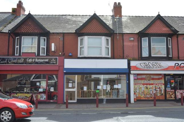 Retail premises to let in 21, Chester Road West, Flintshire