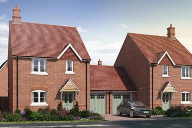 Thumbnail Link-detached house for sale in Hanney Road, Steventon, Oxfordshire