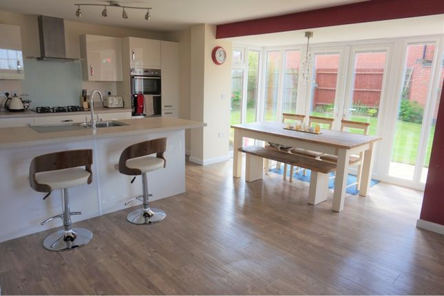 Thumbnail Detached house for sale in Bexley Drive, Swadlincote