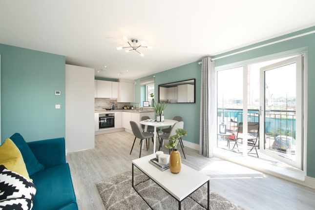 Thumbnail 1 bed flat for sale in 128 Riverside Quay, Endle Street, Southampton