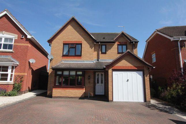 Thumbnail Detached house for sale in Gainsborough Avenue, Hinckley