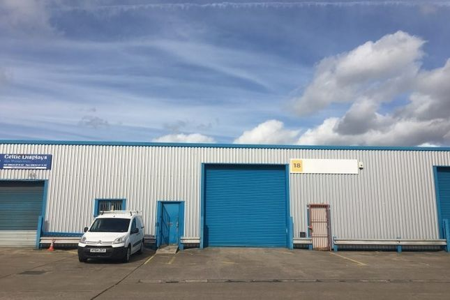 Thumbnail Light industrial to let in Unit 18, Newport Business Centre, Corporation Road, Newport