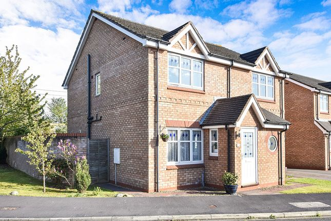 Thumbnail Semi-detached house for sale in Learmans Way, Copmanthorpe, York