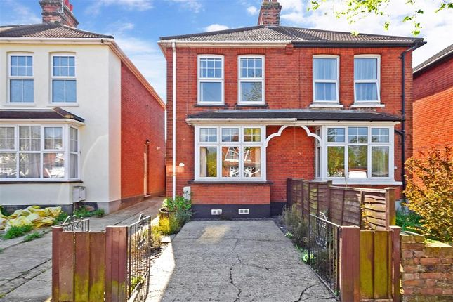Thumbnail Semi-detached house for sale in Kimpton Avenue, Brentwood, Essex