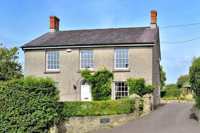 Thumbnail Farmhouse for sale in Longcross, Shaftesbury
