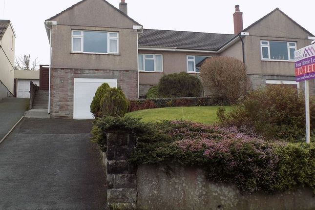 Thumbnail Semi-detached bungalow to rent in Underlane, Plympton, Plymouth