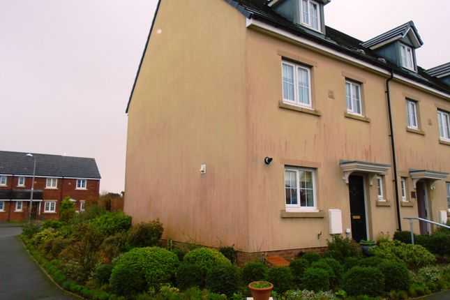 Thumbnail End terrace house to rent in Heol Waunhir, Carway, Carmarthenshire