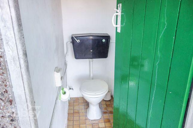 Outside Toilet of Neath Road, Tonna, Neath SA11