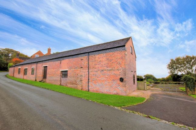 Thumbnail Barn conversion for sale in Knenhall, Stone