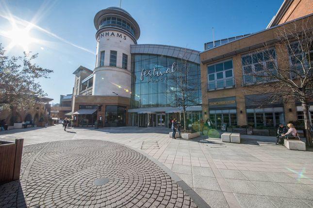 Thumbnail Retail premises to let in Festival Place, Basingstoke