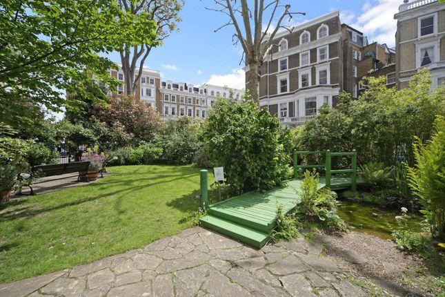 Garden of Lexham Gardens, London W8