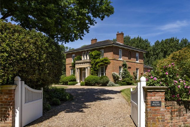 Thumbnail Detached house for sale in The Green, Twinstead, Sudbury, Suffolk