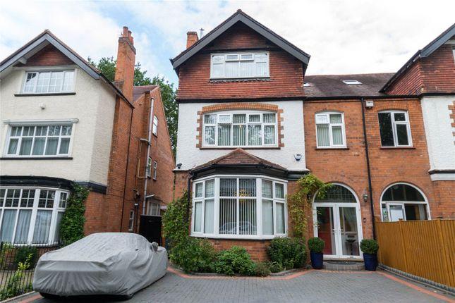 Thumbnail Semi-detached house for sale in Salisbury Road, Moseley, Birmingham
