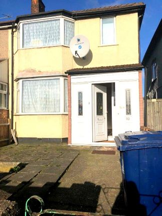 Thumbnail Terraced house to rent in Mandeville Road, Northolt