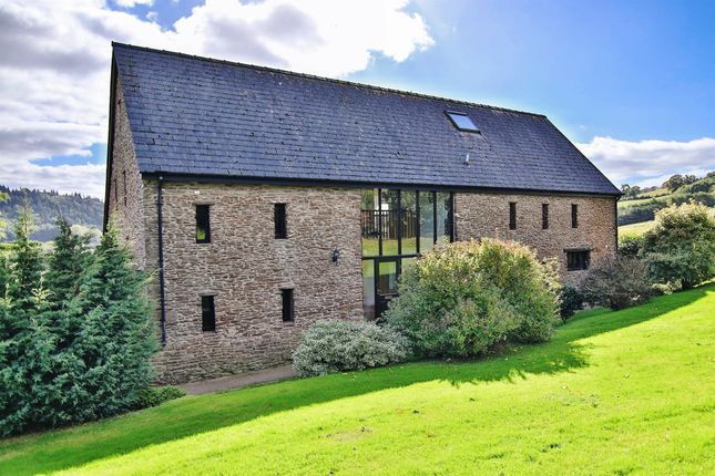 Thumbnail Barn conversion for sale in Ganarew, Monmouth