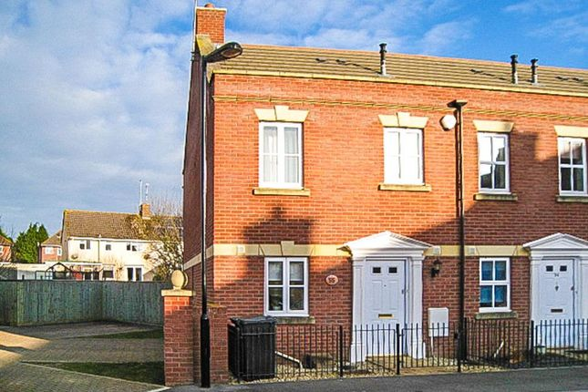 Thumbnail End terrace house to rent in Century Park, Yeovil